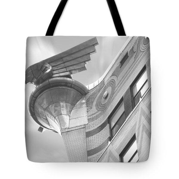 Chrysler Building 4 Tote Bag by Mike McGlothlen