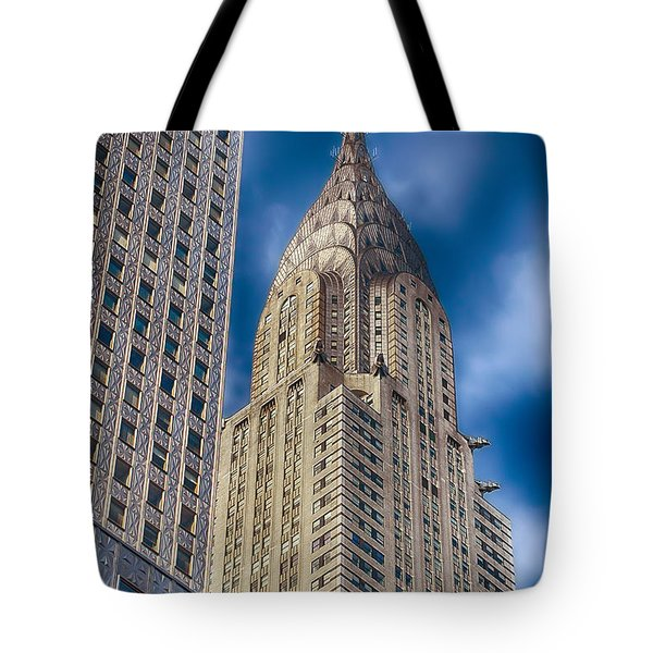 Chrysler Building Tote Bag by Joann Vitali