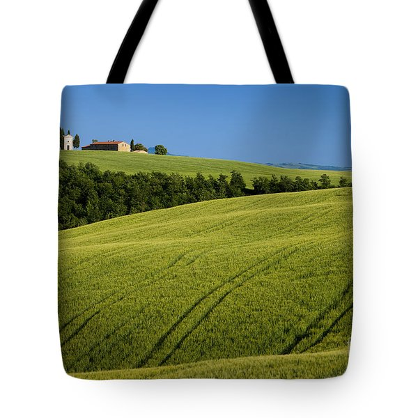 Church in the Field Tote Bag by Brian Jannsen