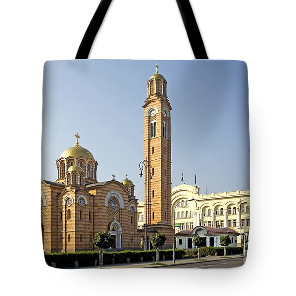 Church Of Jesus The Saviour Tote Bag by Ladi  Kirn