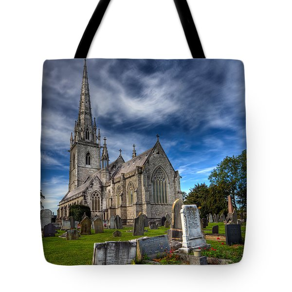 Church Of Marble Tote Bag by Adrian Evans