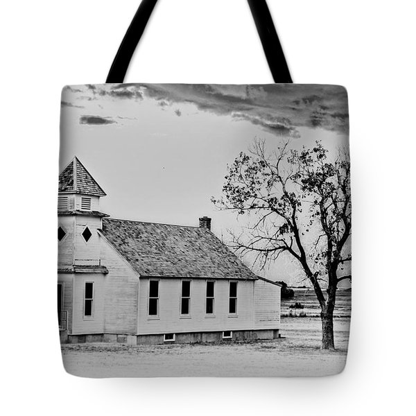 Church On The Plains Tote Bag by Marty Koch