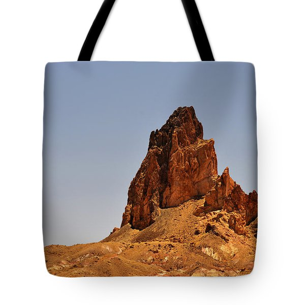 Church Rock Arizona - Stairway To Heaven Tote Bag by Christine Till