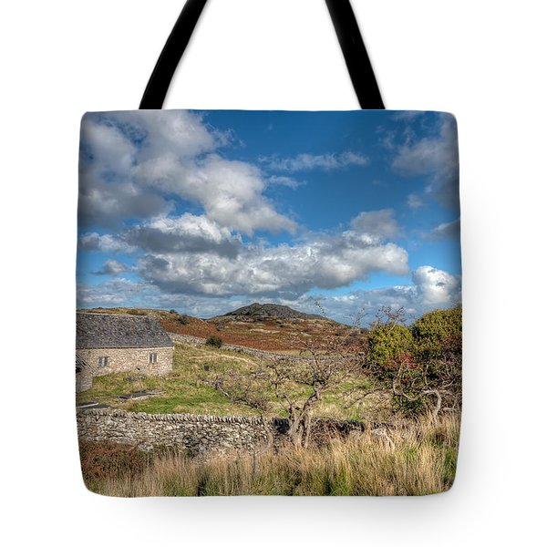 Church View Tote Bag by Adrian Evans