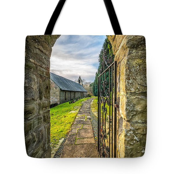 Church Way Tote Bag by Adrian Evans