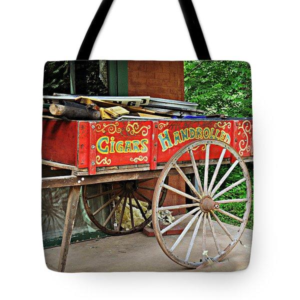 Cigar Wagon Tote Bag by Marty Koch