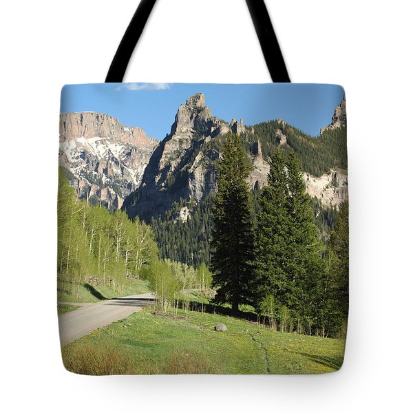 Cimarron Country Tote Bag by Eric Glaser