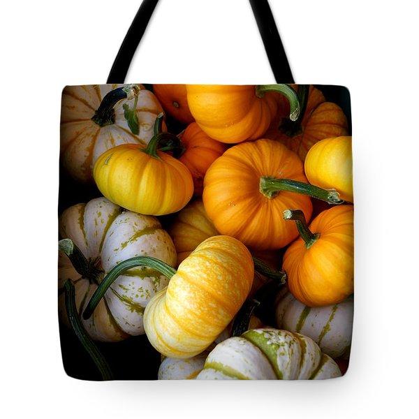 Cinderella Pumpkin Pile Tote Bag by Kerri Mortenson