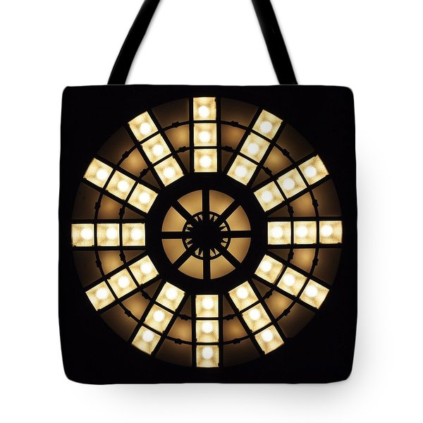 Circle In A Square Tote Bag by Rona Black