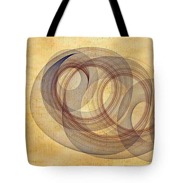 Circle Of Life Tote Bag by Marian Palucci-Lonzetta