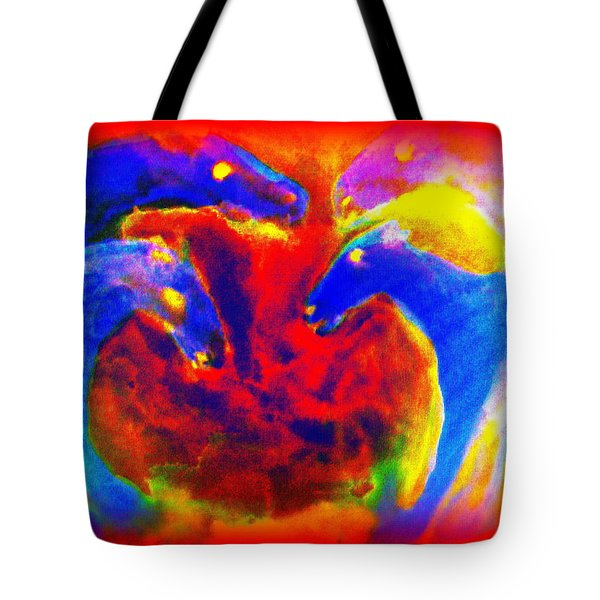 Circle of love Tote Bag by Hilde Widerberg