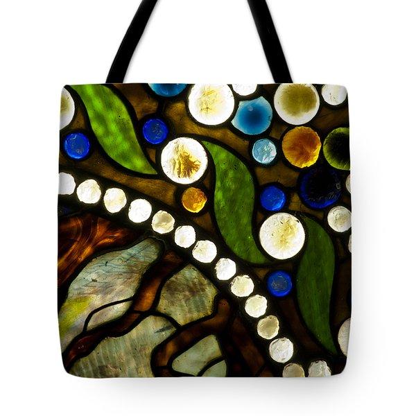 Circles Of Glass Tote Bag by Christi Kraft
