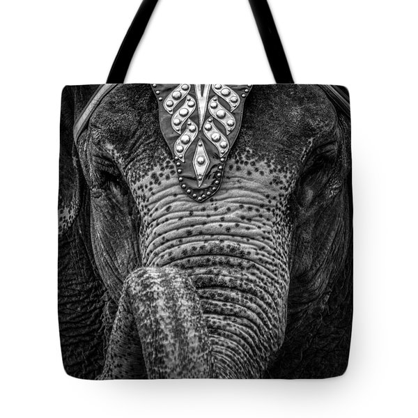 Circus Elephant Tote Bag by Bob Orsillo