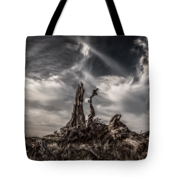 Cirrus Clouds At Sunset  Tote Bag by Marc Crumpler
