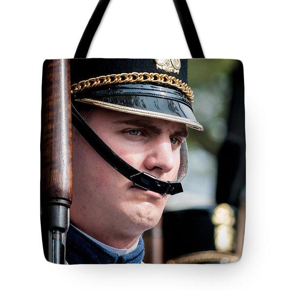 Citadel Cadet Tote Bag by Kathleen K Parker