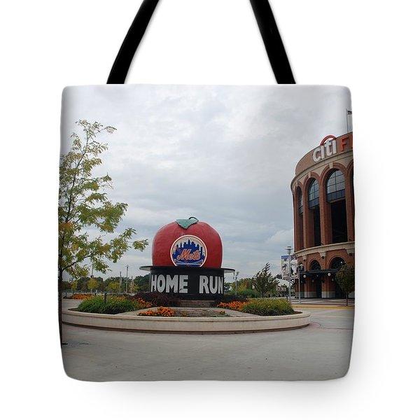 Citi Field Tote Bag by Rob Hans