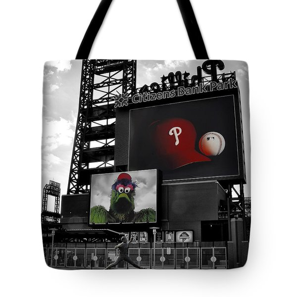 Citizens Bank Park Philadelphia Tote Bag by Bill Cannon