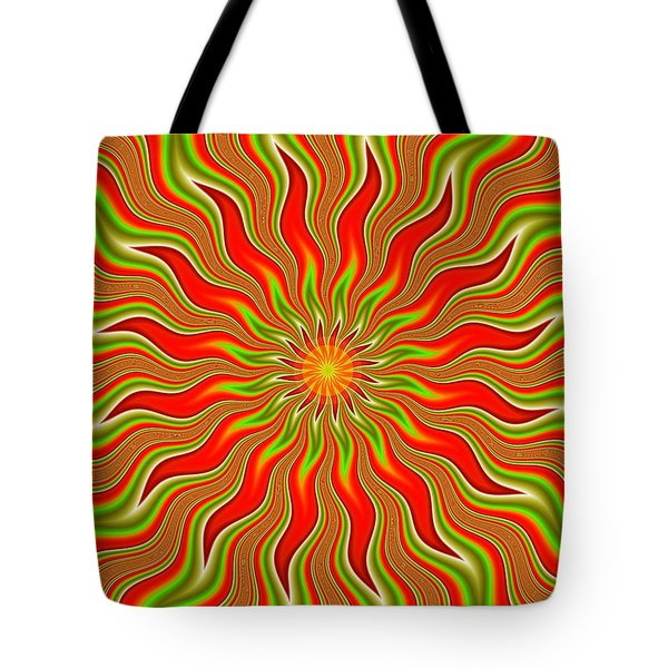 Citrus Sunshine Tote Bag by Faye Giblin
