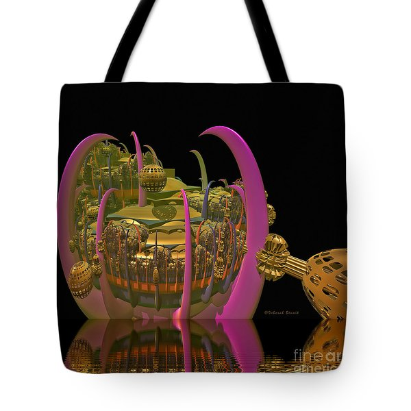 City 22 Tote Bag by Deborah Benoit