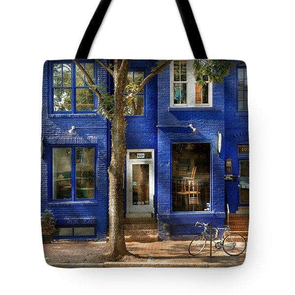 City - Alexandria Va -  Bike - The Urbs Tote Bag by Mike Savad