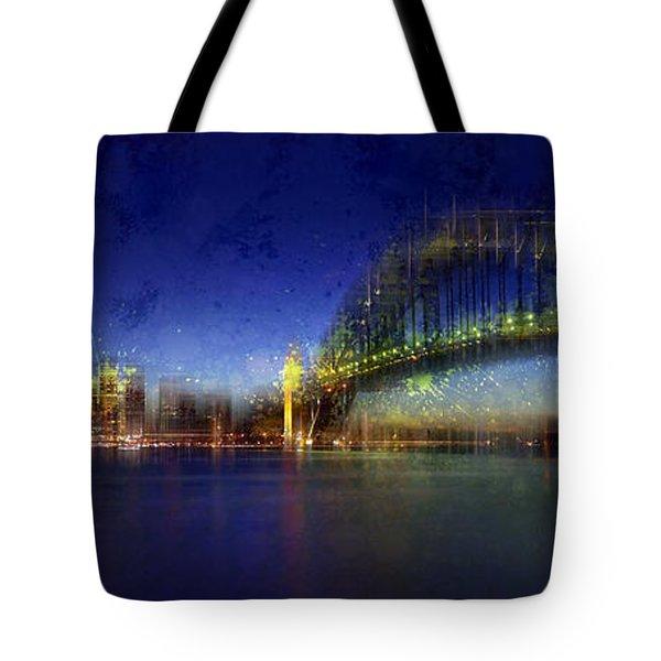City-art Sydney Tote Bag by Melanie Viola
