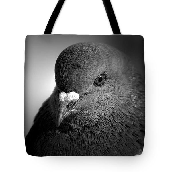 City Bird Gang Leader Tote Bag by Bob Orsillo