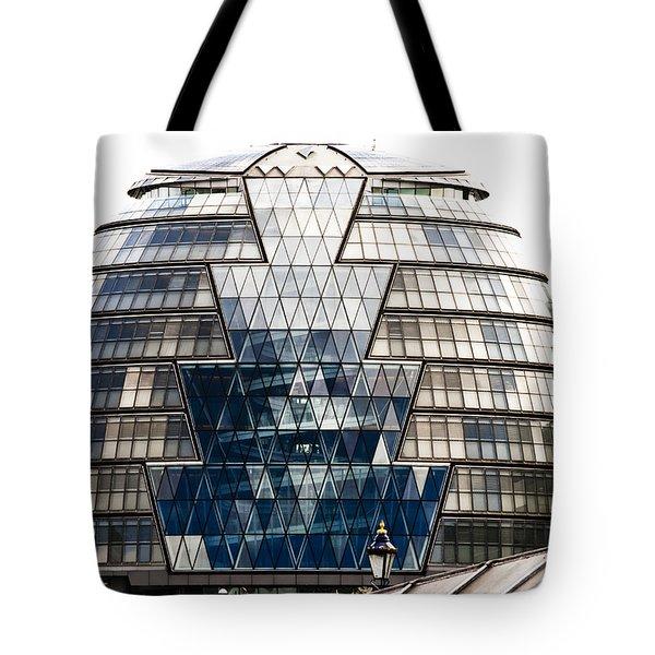 City Hall London Tote Bag by Christi Kraft