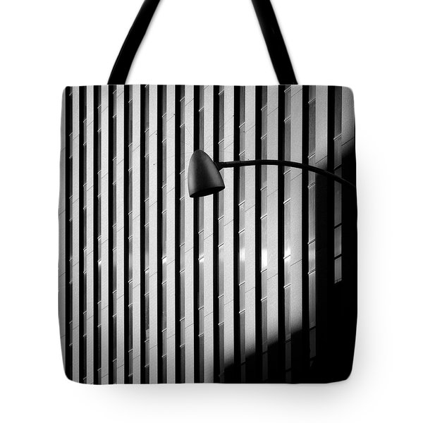 City Lamp Tote Bag by Dave Bowman