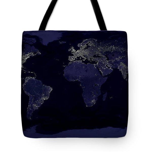 City Lights Tote Bag by Sebastian Musial