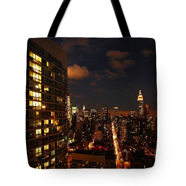 City Living Tote Bag by Andrew Paranavitana
