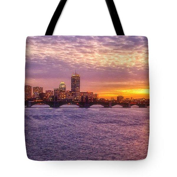 City Nights Tote Bag by Joann Vitali