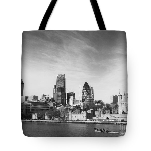 City Of London  Tote Bag by Pixel Chimp