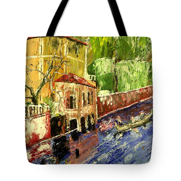City Of Romance Tote Bag by Mark Moore