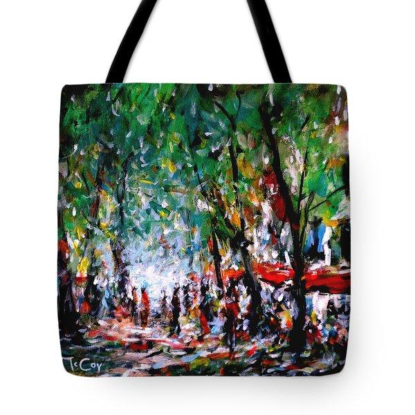 City Promenade Tote Bag by K McCoy