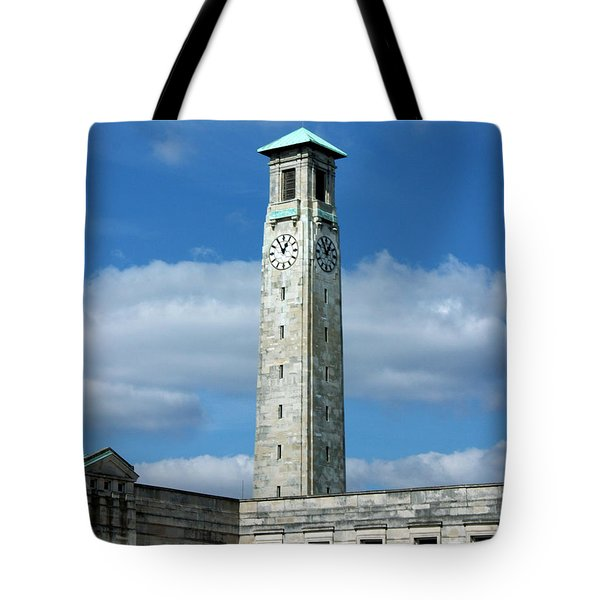 Civic Centre Southampton Tote Bag by Terri  Waters