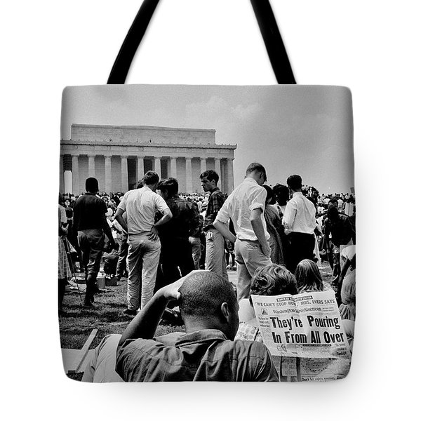 Civil Rights Occupiers Tote Bag by Benjamin Yeager