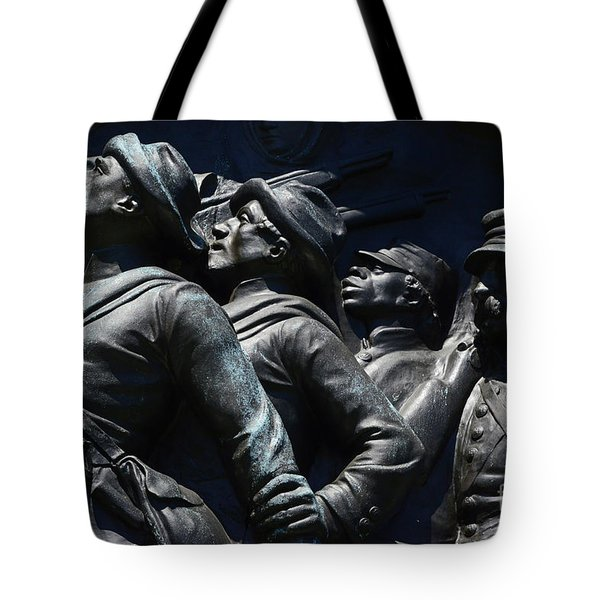 Civil War Figures Tote Bag by Paul W Faust -  Impressions of Light