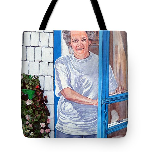 Claire Campbell Lewis Tote Bag by Tom Roderick