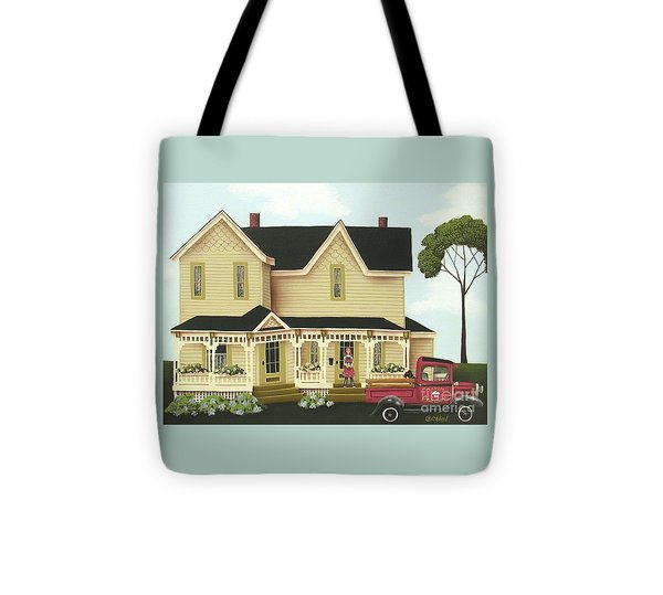 Clara's Confections Tote Bag by Catherine Holman