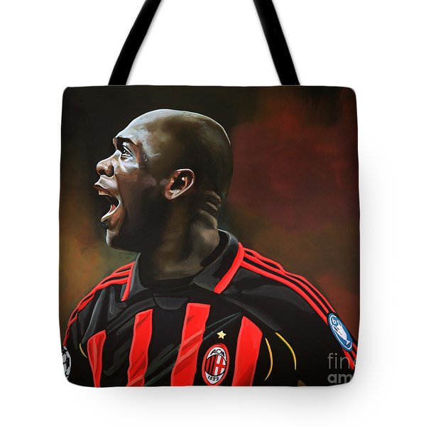Clarence Seedorf Tote Bag by Paul  Meijering