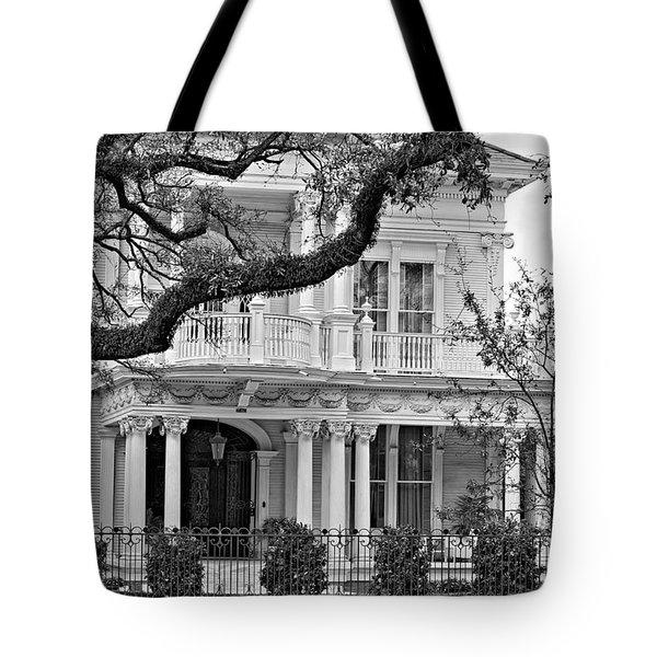 Class Act Monochrome Tote Bag by Steve Harrington