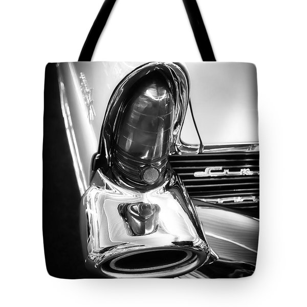 Classic Car Tail Fin Tote Bag by Edward Fielding