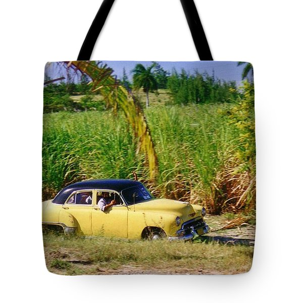 Classic Cuba Tote Bag by Halifax Photographer John Malone