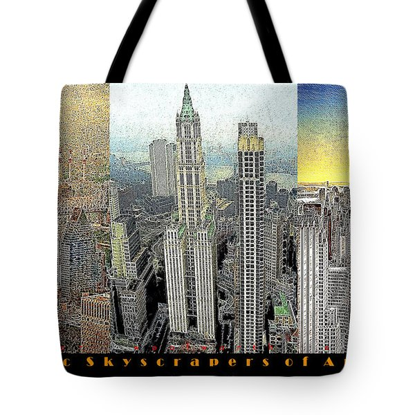 Classic Skyscrapers of America 20130428 Tote Bag by Wingsdomain Art and Photography