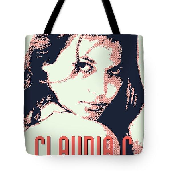 Claudia C Tote Bag by Chungkong Art