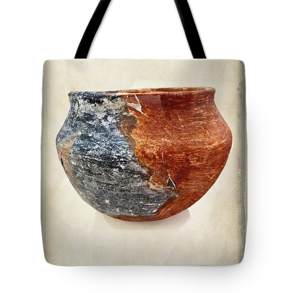 Clay Pottery  - Fine Art Photography Tote Bag by Ella Kaye Dickey
