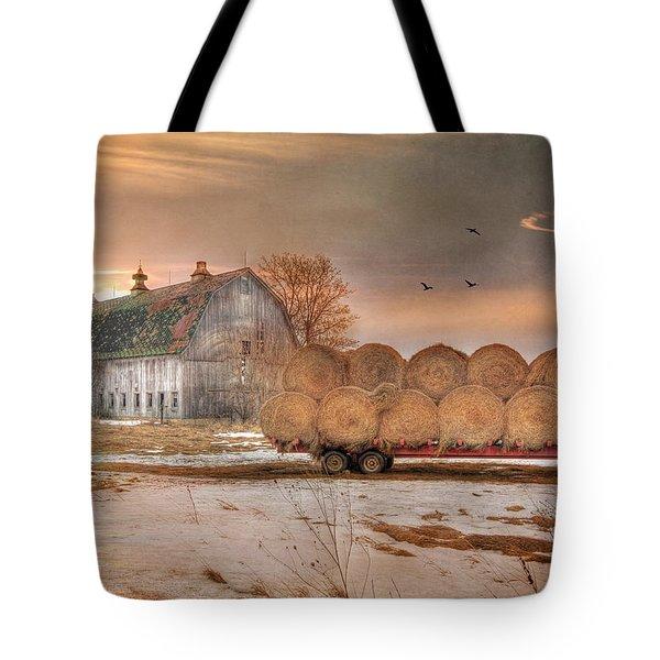 Clayton Sunset Tote Bag by Lori Deiter