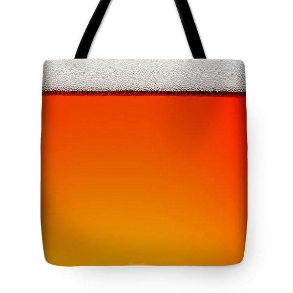 Clean Beer Background Tote Bag by Johan Swanepoel