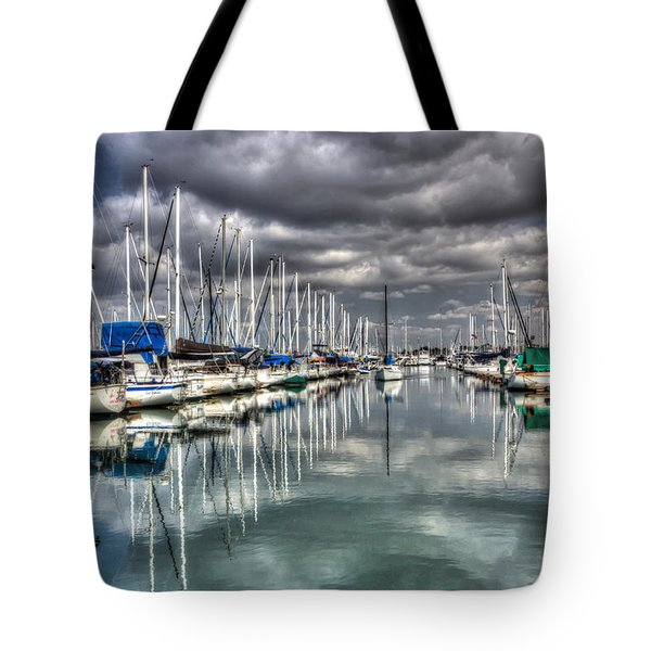 Clearing Storm Tote Bag by Heidi Smith