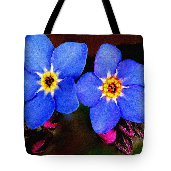 Clematis Flowers Tote Bag by Bob and Nadine Johnston